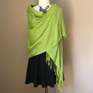 New gorgeous green pashmina